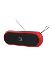 Heatz Crue Portable Bluetooth Speaker, Red