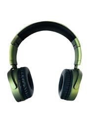 Heatz ZB46 Brawo Sound Design Bluetooth On-Ear Headset, Green