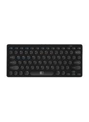 Heatz ZK07 Bluetooth English Keyboard, Black