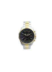 Spectrum Explorer Analog Watch for Men, with Stainless Steel Band and Chronograph, S82429M, Silver/Gold-Black