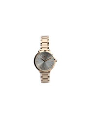 Spectrum Explorer Analog Watch for Women, with Stainless Steel Band, 25170L, Rose Gold-Silver