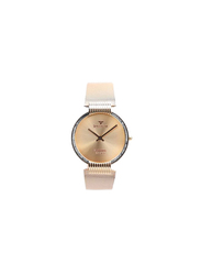 Spectrum Creative Analog Watch for Men, with Mesh Band, S15036M, Rose Gold