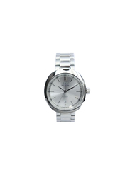 Spectrum Inventor Analog Watch for Men, with Stainless Steel Band, S93277M-3, Silver