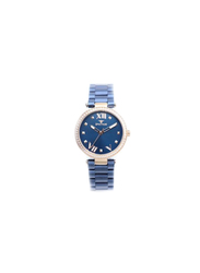Spectrum Challenger Analog Watch for Women, with Stainless Steel Band, S25171L, Blue
