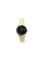 Spectrum Inventor Analog Watch for Women, with Stainless Steel Band, 25140L, Gold-Black
