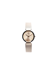 Spectrum Creative Analog Watch for Women, with Mesh Band, S15036L, Rose Gold