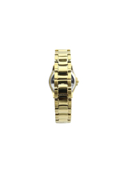 Spectrum Explorer Analog Watch for Women, with Stainless Steel Band, S12554L, Gold-White