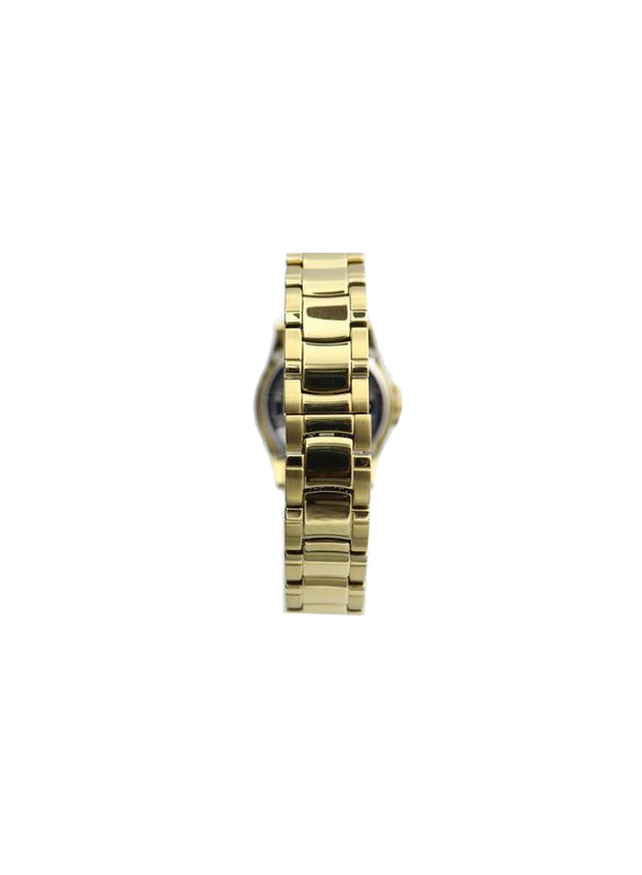 Spectrum Explorer Analog Watch for Women, with Stainless Steel Band, S12554L, Gold-Black