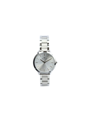Spectrum Explorer Analog Watch for Women, with Stainless Steel Band, 25170L, Silver