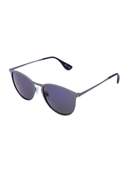Daniel Klein Polarized Aviator Full-Rim Grey Frame Sunglasses for Men, Mauve Lens, DK3174C, 53/15/130
