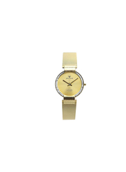 Spectrum Creative Analog Watch for Women, with Mesh Band, S15036L, Gold