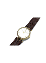 Spectrum Creative Analog Watch for Women, with Leather Band, 12504L, Black
