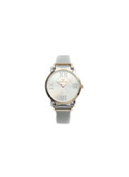 Spectrum Multi-Dimensional Analog Watch for Women, with Mesh Band, S25131L, Silver-Silver/Rose Gold