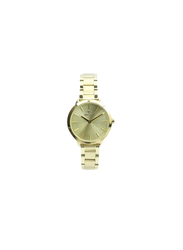 Spectrum Explorer Analog Watch for Women, with Stainless Steel Band, 25170L, Gold