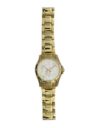Spectrum Creative Analog Watch for Women, with Stainless Steel Band, S12554L-5, Silver/Rose Gold-White