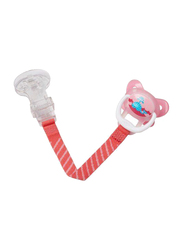Dr. Browns Pacifier Tether with Clip, Pink