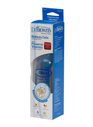 Dr. Browns Natural Flow Anti-Colic Baby Bottle, 236ml, Clear