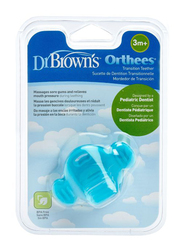 Dr. Browns Transition Teether, 3+ Months, Orthees, Blue