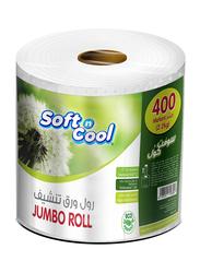 Soft N Cool Jumbo Maxi Roll Value Pack, 400m, 2.2 Kg