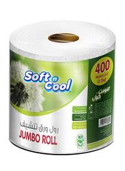 Soft N Cool Jumbo Maxi Roll, 2.2 Kg, 1 Roll X 400m x 1 Ply