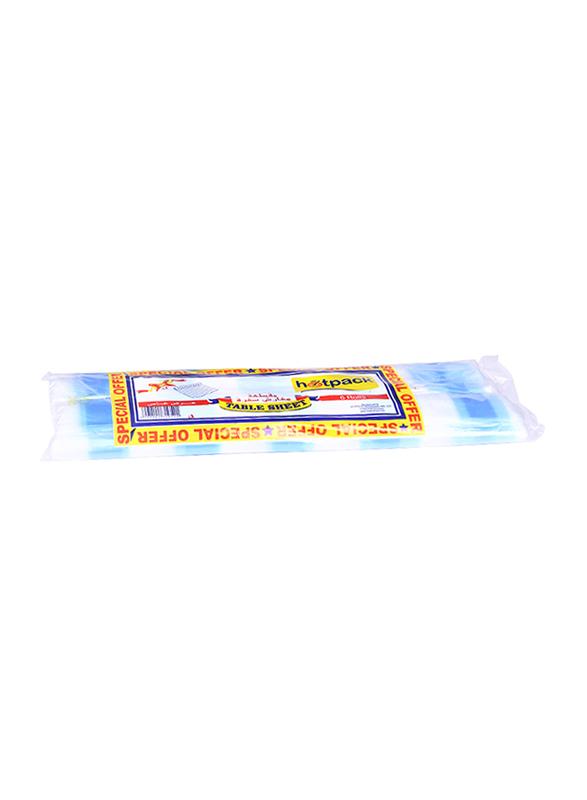 Hotpack Table Sheet, 6 Rolls, Blue
