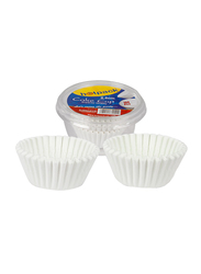 Hotpack 9.5cm 100-Piece Paper Disposable Cake Cup, PCC9.5, White