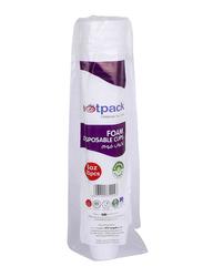 Hotpack 6oz 25-Piece Foam Disposable Cup Set, FC6M, White