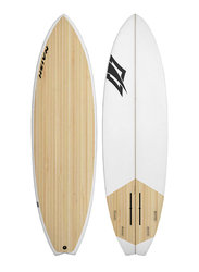 Naish 2018 Hover Dedicated Surf Foilboard, 6'0, White/Beige