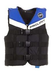 Prolimit Nylon 3-Buckle Vest, Extra Small, Blue/Black/White