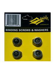 Naish Apex Screw & Washer Set, 4 Pieces, Black