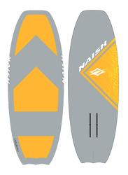 Naish 2018 Hover Soft Top Surf Board & Surf Foilboard, 5'6, Grey/Yellow