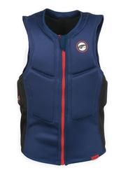 Prolimit Slider Half Padded Front Zip Vest, Small, Blue/Red