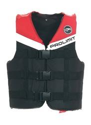 Prolimit Nylon 3-Buckle Vest, Extra Large, Red/Black/White