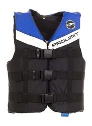 Prolimit Nylon 3-Buckle Vest, Extra Large, Blue/Black/White