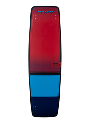 Naish 2020 Hero Freeride Kitesurfing Boards, 140 x 43cm, Red/Blue/Navy Blue