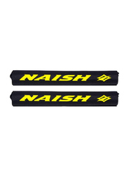 Naish 2-Pieces Roof Rack Pads, Black