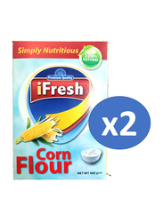 iFresh Corn Flour, 2 Pieces x 400g