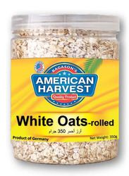 American Harvest Classic White Rolled Oats Jar, 350g