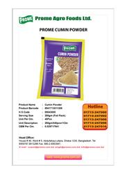 Prome Cumin Seed Powder, 250g