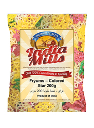 India Mills Fryums Colored Star, 200g