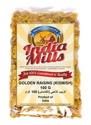 India Mills Golden Raisins, 100g