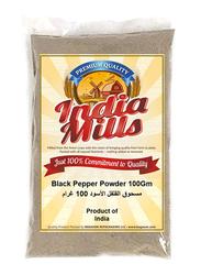 India Mills Black Pepper Powder, 100g