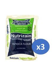 Nutrizain Premium Tapioca Flour, 3 Pieces x 500g
