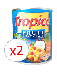 Tropico Fruit Cocktail, 2 Cans x 850g