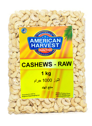 American Harvest Raw Cashews, 1 Kg