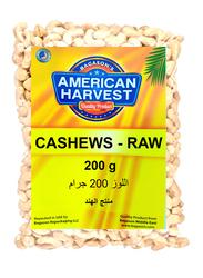 American Harvest Raw Cashews, 200g