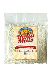 India Mills White Saboodana (Sago Seeds), 200g