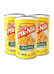 Pik-Nik Original Shoestring Potatoes Crisp, 3 Cans x 50g