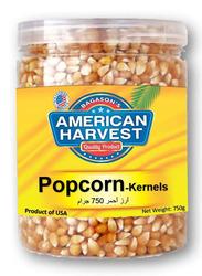 American Harvest Yellow Popcorn Kernels Jar, 750g