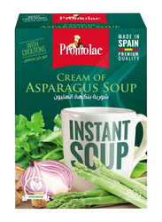 Promolac Cream of Asparagus Instant Cup Soup, 4 x 20g